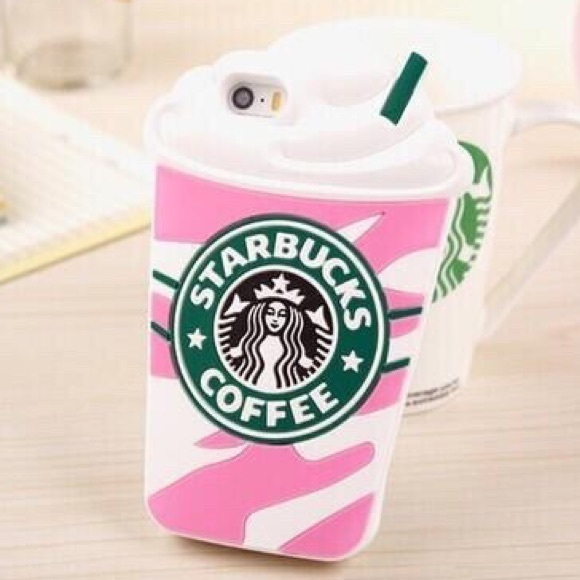 new style 5eab7 68d30 Starbucks coffee iPhone 6 phone case 3D NWT