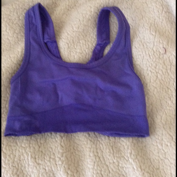 60% off Pro-Fit Other - Purple Pro-Fit seamless sports bra from ...