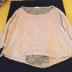 Forever 21 Tops - Cute tan flowy top!