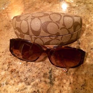 Coach keri sunglasses in tortoise