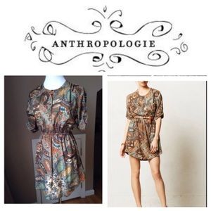 Anthropologie shirt dress