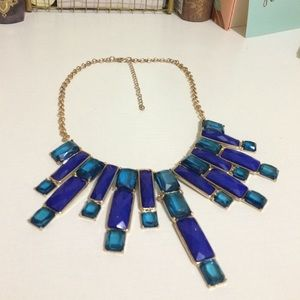 Jewelry - Blue Stone Statement Necklace