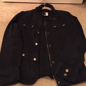 KUT from the Kloth Black jacket with zipper