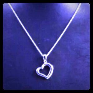 Steel By Design Jewelry - 🌑STAINLESS STEEL OPEN HEART NECKLACE🌑