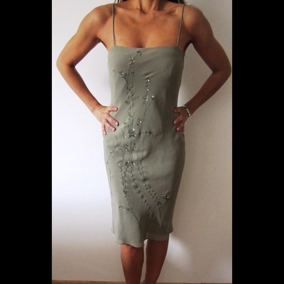 4cf929084740 Banana Republic Dresses | Silk Spaghetti Strap Slip Dress | Poshmark