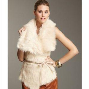 Faux fur vest from Nordstroms