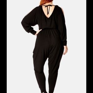 f7abde9f5e45 City Chic Pants - ⏳GONE 5 31⏳ 🎉HP🎉 cold shoulder jumpsuit