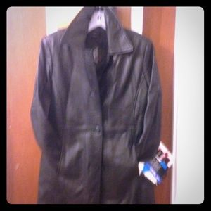 Jackets & Blazers - Ultra Lined Authentic Leather Coat