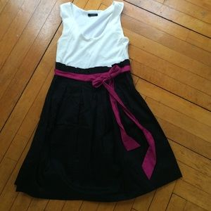 Rhapsody Dresses & Skirts - Cotton color block dress