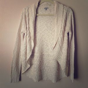 NWOT Open Front Draped Cardigan