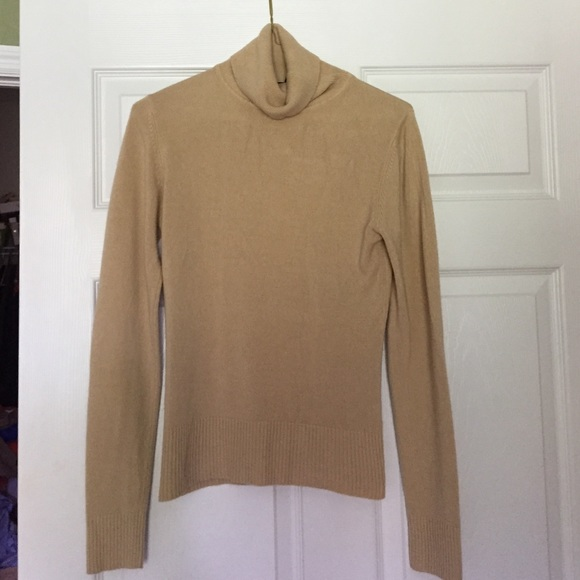79% off H&M Sweaters - H&M Camel Color Turtleneck Sweater from ...