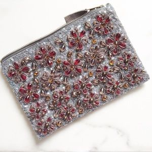 Anthropologie Handbags - Anthropologie embellished clutch