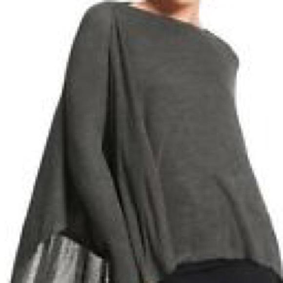 73% off CAbi Sweaters - Cabi multi way poncho nursing maternity ...
