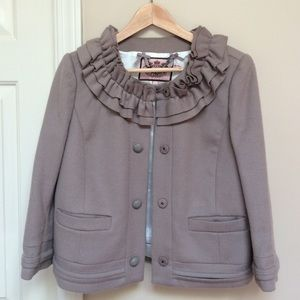 Juicy Couture taupe blazer