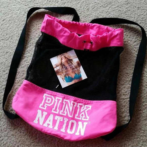 70% off PINK Victoria's Secret Handbags - Pink Nation backpack   ...