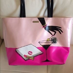 Kate spade canvas coated tote