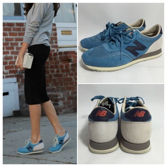 NEW BALANCE 620 SNEAKERS – ASH BLUE