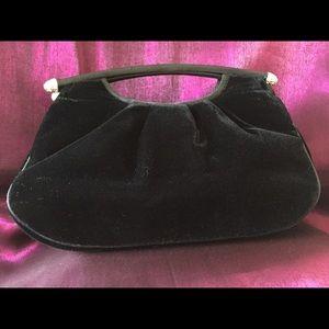 Bechamel Handbags - Bechamel Black Velvet Clutch