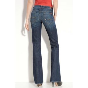 7 for all Mankind Denim - 7 for all mankind size 24 bootcut jeans