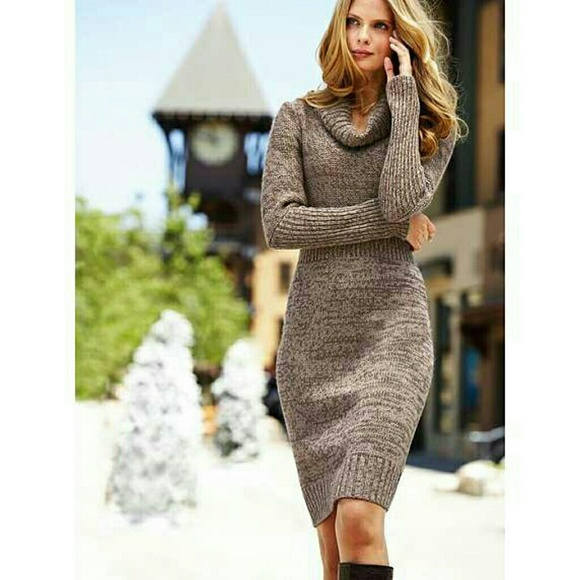 69% off Moda International Dresses & Skirts - Marled Cowl Neck ...