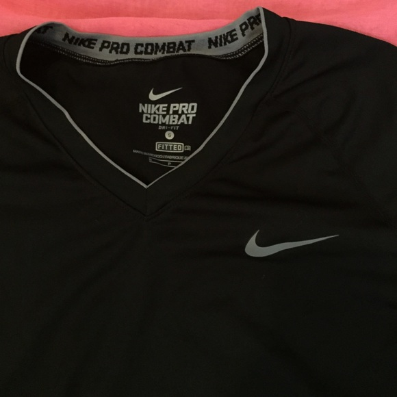 premium selection 3f373 c8942 Nike Pro Combat Black Dri Fit Short Sleeve. M 55299527afcd0e0738009776