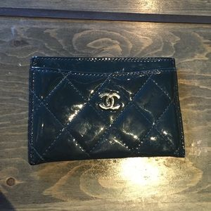 Authentic Chanel credit card holder