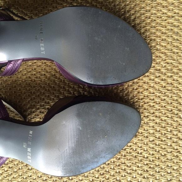 Nine West Shoes - Reduced ✂️ Metallic Purple Sandals | Nine West