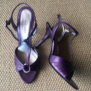 Nine West Shoes - Reduced ✂️ Metallic Purple Sandals | Nine West