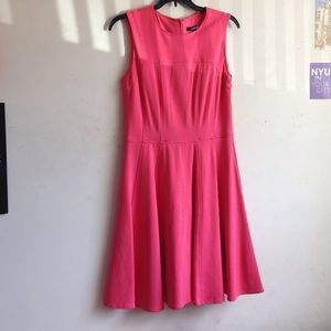 Nanette Lepore Pink Fit and Flare Dress!