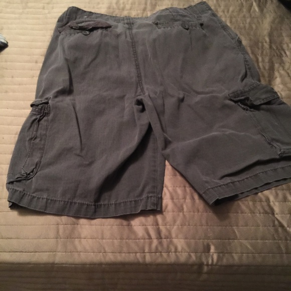 Paper Denim & Cloth Jean Shirt & 2 Pair Of Shorts. Gently Used. Very Comfortable Clothes. Denim Shirt Is Awesome. White Shorts Have Small Spot By Pocket, See Picture.