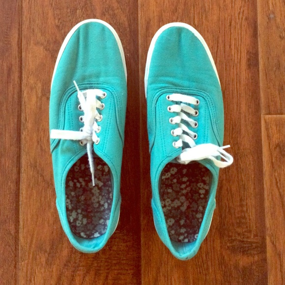 59 mossimo supply co shoes size 11 teal canvas