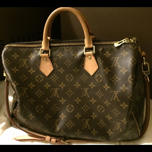 Lv Speedy 35 Monogram