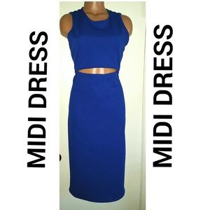 Dresses & Skirts - Blue Midi Dress
