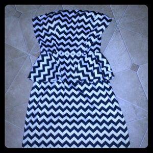 annianna  Dresses & Skirts - Black and white dress