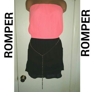 Pants - SOLD!!! Color Block Romper