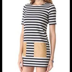 Club Monaco striped dress