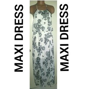Dresses & Skirts - Black and White Maxi Dress