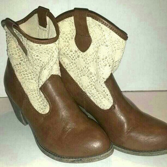 61 mudd shoes brown western boots from patty s