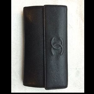 Brand new CHANEL wallet. Black