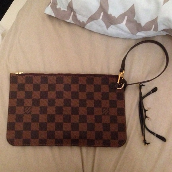 louis vuitton pochette. new louis vuitton pochette wristlet neverfull x