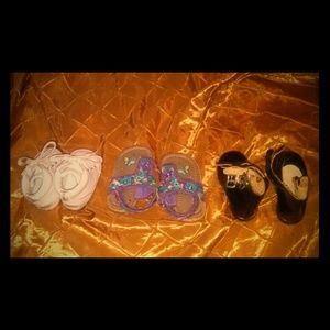 Infant girl shoes and sandals