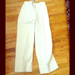 Marc Jacobs Collection White Sailor Pants Size 8