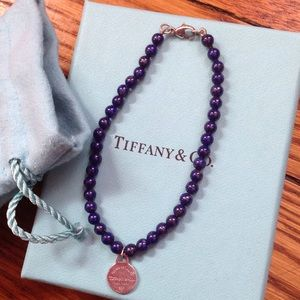 Tiffany & Co. Jewelry - Tiffany & Co. lapis lazuli bead bracelet with tag