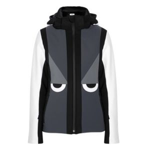 FENDI Creatures Hooded Ski Jacket