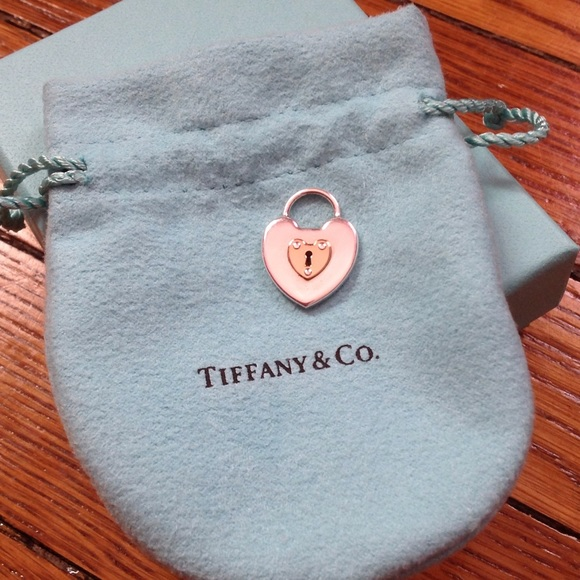0d6d82793 Tiffany & Co. Jewelry | Tiffany Co Heart Lock In Silver And Rose ...