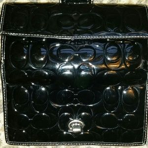 Beautiful patent leather coach