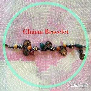 Charm Bracelet with Small Locket
