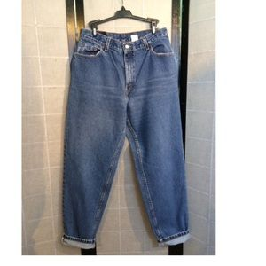 Levi's 550 high waisted tapered leg