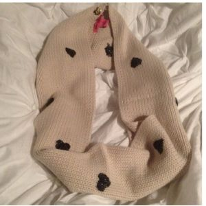 Betsey Johnson infinity scarf