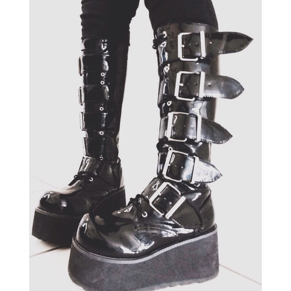 15 Off Demonia Boots Demonia Trashville 518 From